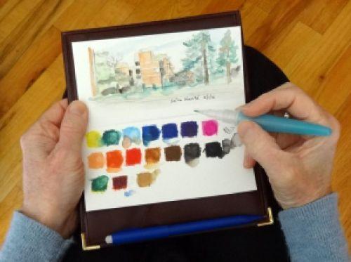 Travel-palette